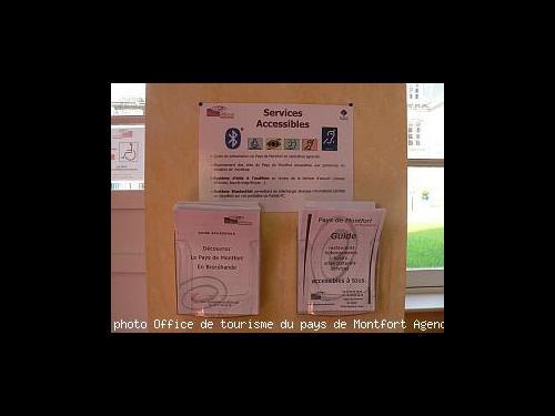 Journ e nationale tourisme et handicap en pays de montfort - Federation nationale des offices de tourisme ...
