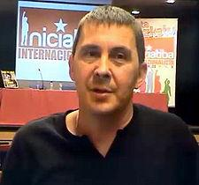 Arnaldo Otegi (above) was re arrested in October 2009 (photo: wikipedia)