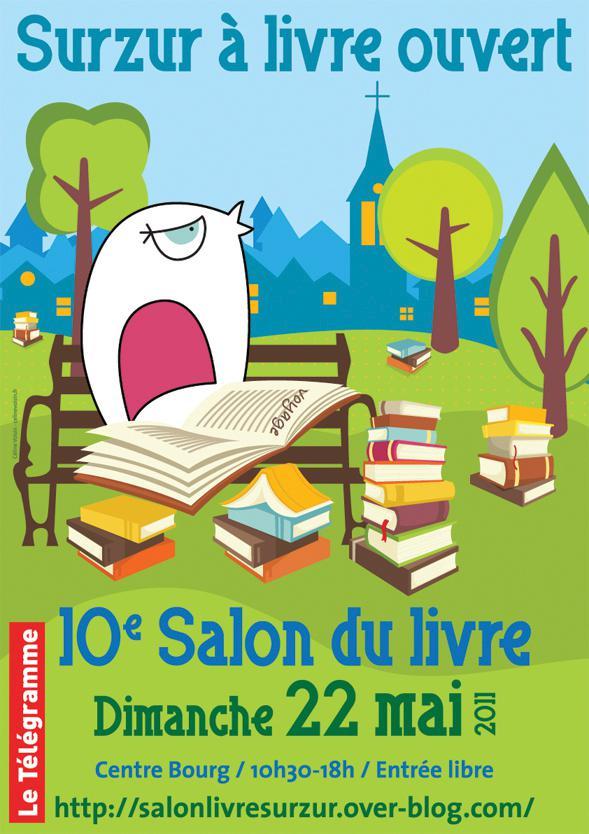 Surzur livre ouvert le 10e salon du livre - Bureau de change paris ouvert le dimanche ...
