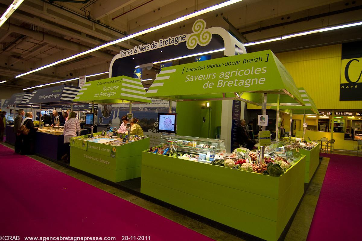 Produits fermiers bretons l 39 innovation l 39 honneur du for Salon de l innovation
