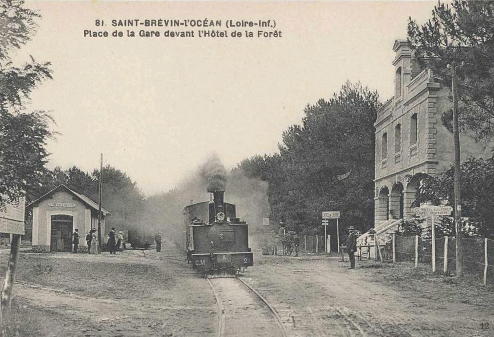 De paimboeuf pornic il y a 100 ans avec la compagnie des chemins de fer du - Presse ancienne morbihan ...