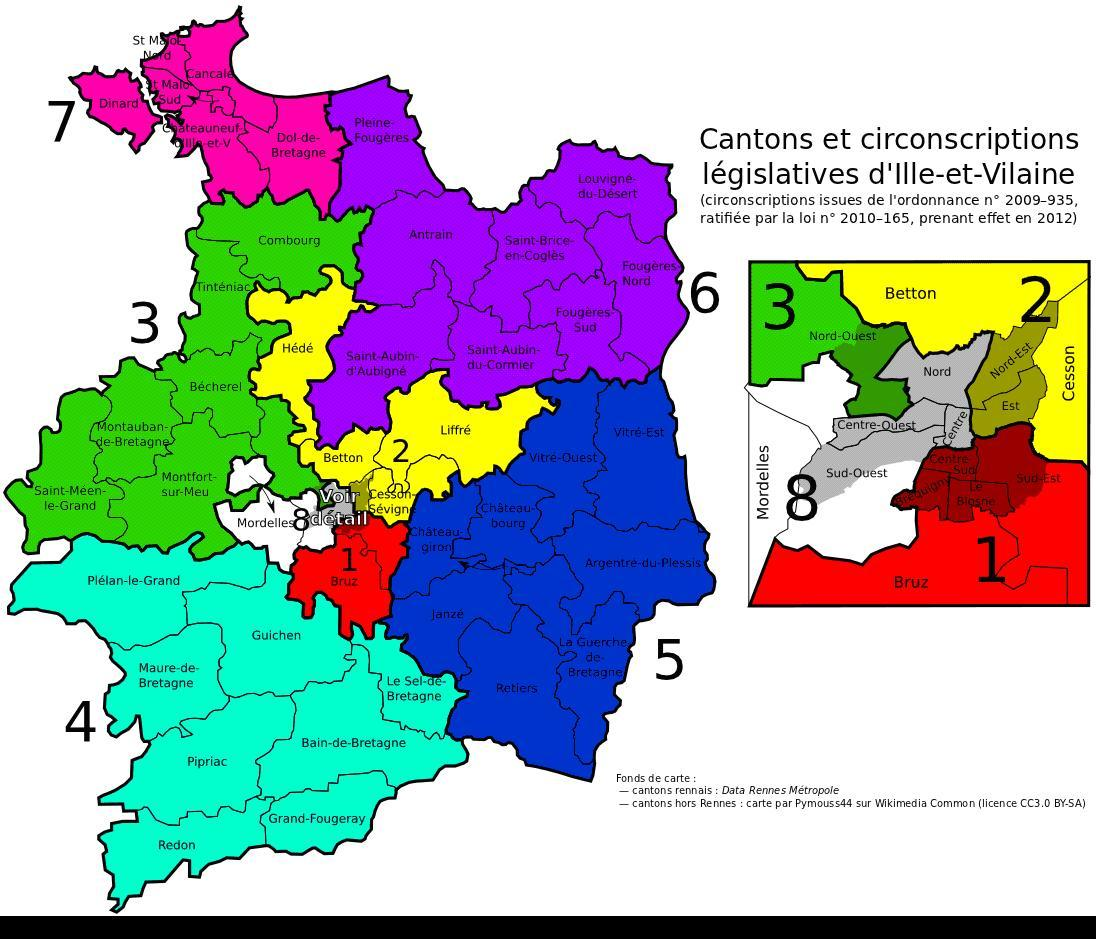 Legislatives 7eme circonscription ille et vilaine