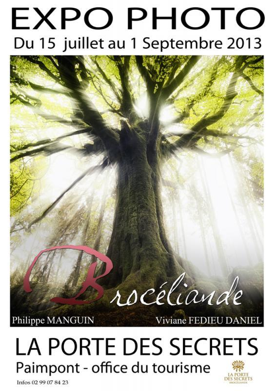 Exposition photo broceliande - La porte des secrets paimpont ...