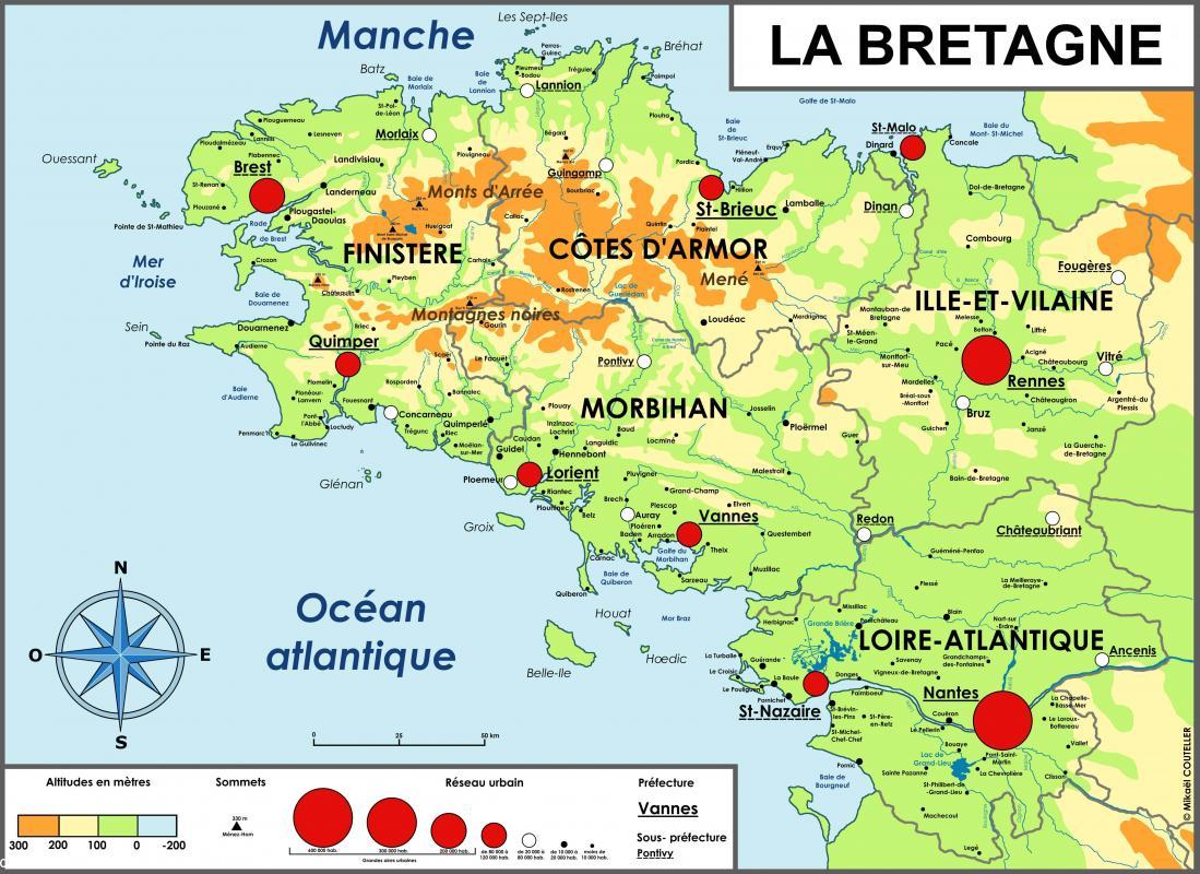 carte-de-bretagne - Photos