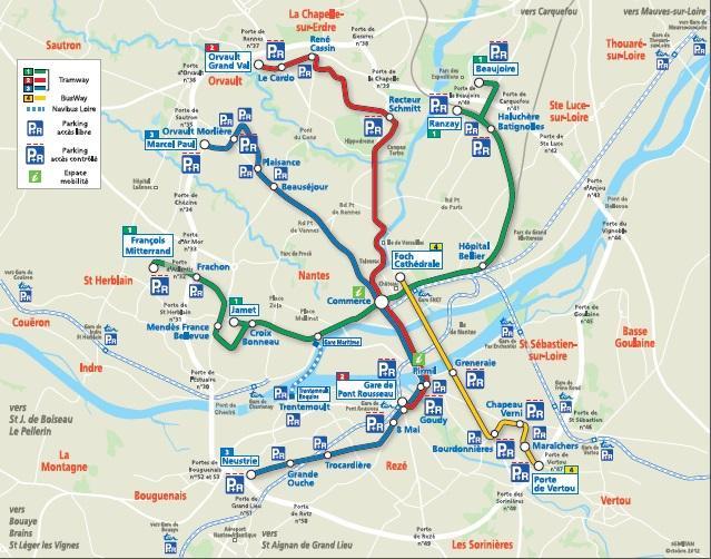 Plan Bus Ville De Quimper