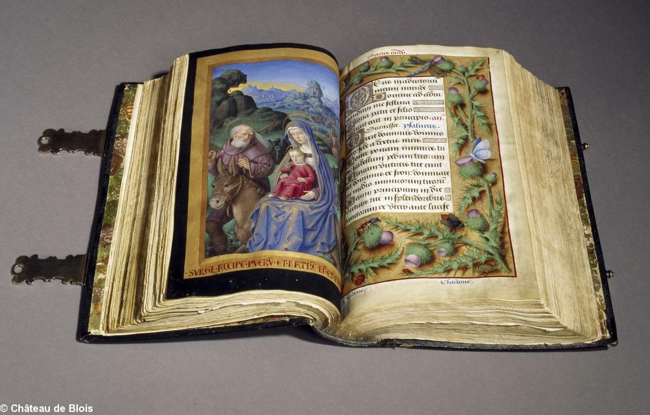 LE LIVRE D'HEURES DE LA REINE ANNE DE BRETAGNE (vers 1503) TRADUIT DU LATIN par M. L'ABBÉ DELAUNAY – Paris - 19 eme sièc 38609_5