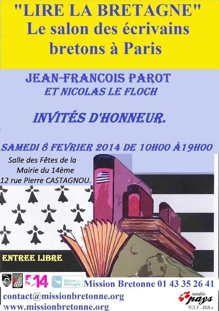 Salon du livre lire la bretagne le 6 f vrier 2016 paris xive - Salon du livre en bretagne ...