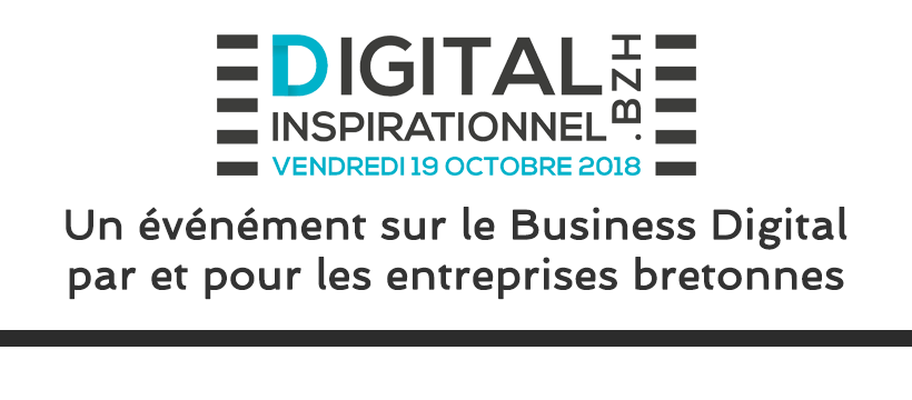 Logo de l'événement Digital Inspirationnel