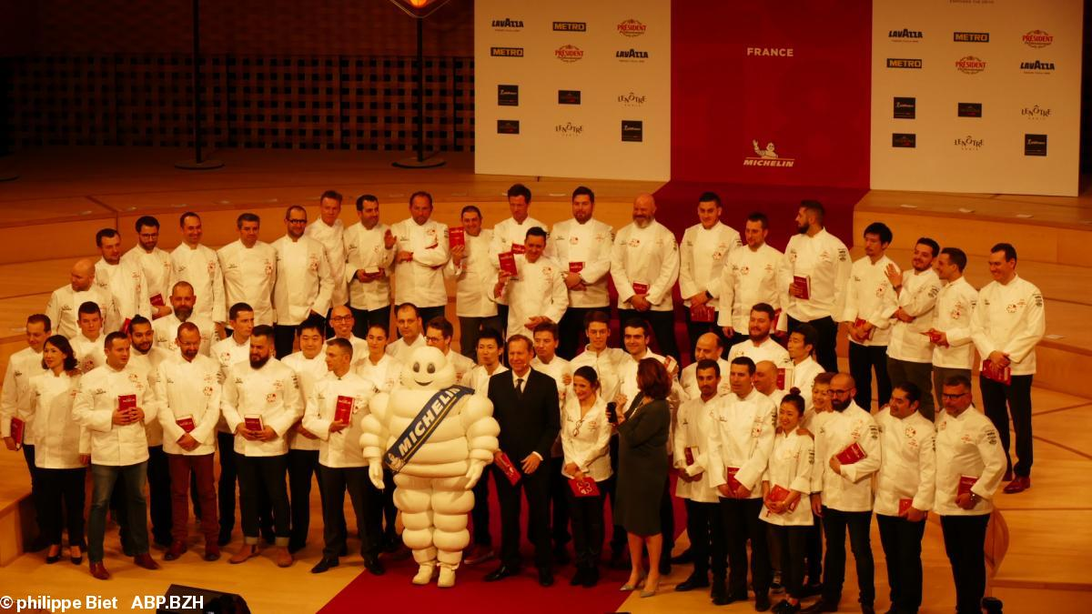 Le Guide Michelin En Région Bretagne