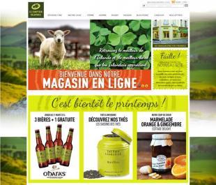 Le comptoir irlandais lance sa boutique en ligne - Comptoir irlandais lorient ...