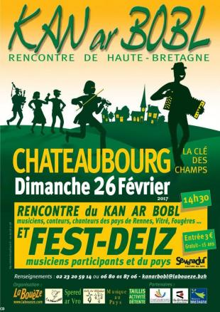 Rencontre Kan ar bobl 2017 chateaubourg