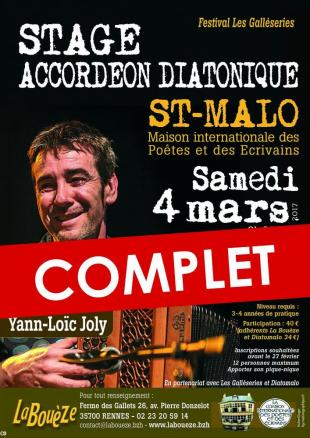 Stage yann loic joly complet st malo
