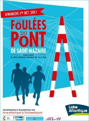 Affiche Foulées du Pont, première édition 2017. 42 42551_1.jpg