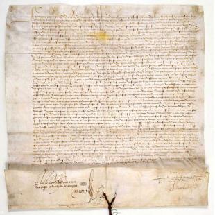 L'édit de 1532 (source Archives Nationales) 42 42818_1.jpg