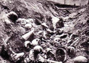 Bataille de Verdun, 1916.