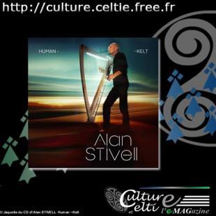 Jaquette du CD d'Alan STIVELL  Human ~Kelt