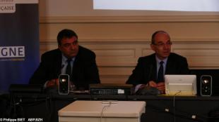 Philippe Mazenc , SGAR, Gilles Brégant, ANFR