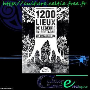 Couverture du livre 1200 lieux de légende en Bretagne de Bernard RIO - COOP BREIZH