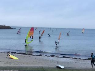 300 compétiteurs à Quiberon ce week-end pour ce championnat de France de windsurf