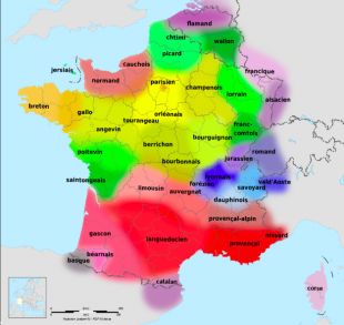 Langues de la France fait par Lexilogos.com  CC BY-SA 3.0, https://commons.wikimedia.org/w/index.php?curid=9499467
