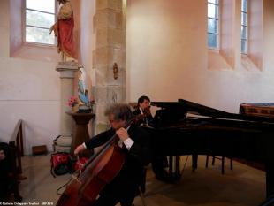 Les Amis des Musicales de Quiberon se sont réunis dans la Chapelle de Saint Clément de Quiberon