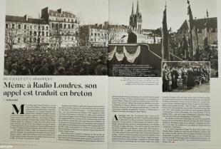 """Le 2 février à Quimper : """"il est de toute justice que ce soit en Bretagne que je l"""