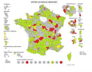 La carte du vote ( A. Vigié)