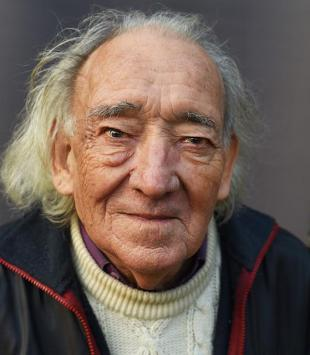 André le Ruyet,  portrait du photographe Yvon Kervinio (L