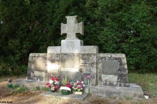 Monument aux Bretons, érigé par Koun Breizh en 1988, pour le 500 ème anniversaire de la bataille.