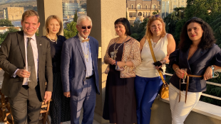 Diégo Colas,  Irina Koçak, Yann Choucq, Anna Mouradova, Natalia Tsilosani. (CC_BY_SA)