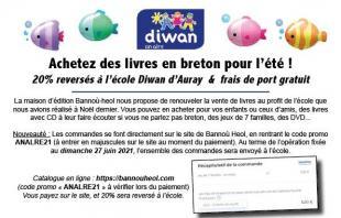 Vente de livres en breton au profit de l