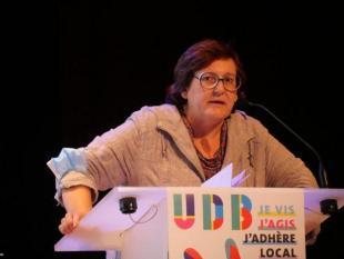 Montserrat Casacuberta-Palmada, conseillère déléguée aux Politiques linguistiques et langues de Bretagne à la Ville de Rennes, et récemment élue au bureau de l'UDB, a présenté la motion lors du Congrès de l'UDB  à Saint-Brieuc le 26 septembre dernier.